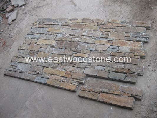 Stacked Stone Wall 7001